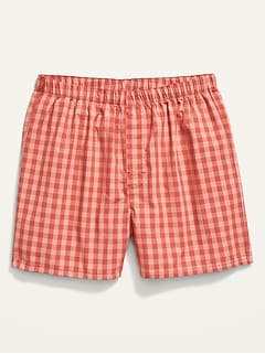 Soft-Washed Boxer Shorts for Men
