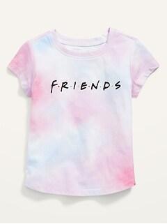 Friends™ Unisex Short-Sleeve Tie-Dye Tee for Toddler