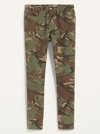 Relaxed Slim Taper Built-In Flex Camo Jeans for Men