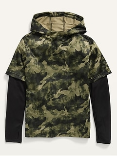 Go-Dry 2-in-1 Pullover Hoodie for Boys