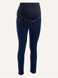 Maternity Premium Full Panel Rockstar Super Skinny Jeans