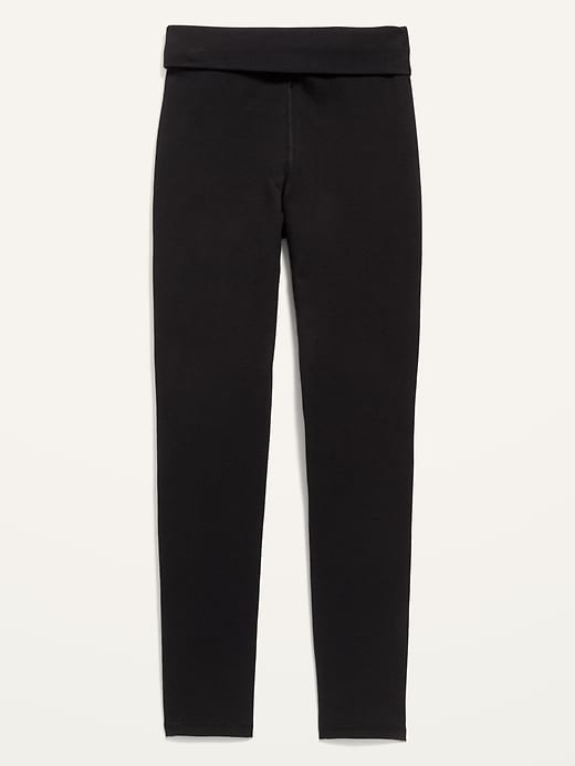 Extra High-Waisted Convertible Go-Dry Leggings for Girls
