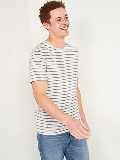 T-shirt ras du cou à imprimé ultra-doux pour Homme