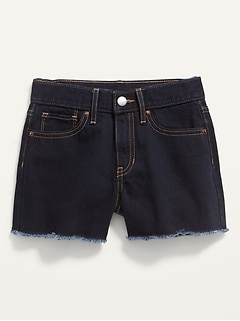 Extra High-Waisted Cut-Off Jean Shorts for Girls
