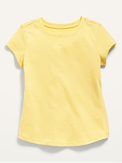 Unisex Short-Sleeve Solid Tee for Toddler
