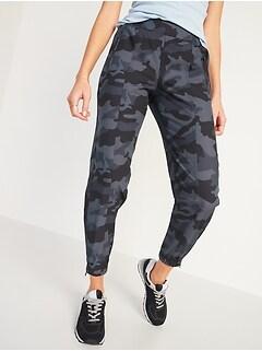 Mid-Rise StretchTech Jogger Pants for Women