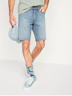 Slim Built-In Flex Jean Shorts for Men -- 9.5-inch inseam