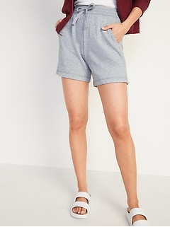 Extra High-Waisted Vintage Sweat Shorts for Women -- 5-inch inseam