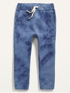 Unisex Functional Drawstring U-Shaped Sweatpants for Toddler