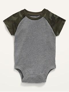 Unisex Raglan Bodysuit for Baby