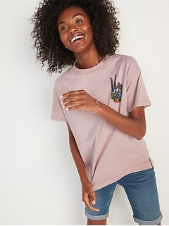 Loose Vintage Graphic Tee for Women