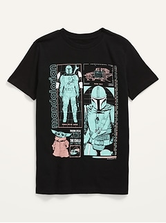 Star Wars™ The Mandalorian Gender-Neutral Graphic Tee for Kids