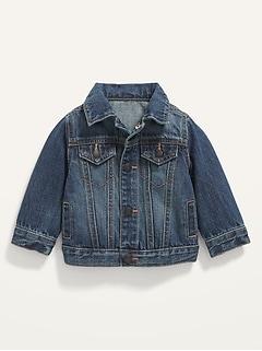 Unisex Jean Trucker Jacket for Baby