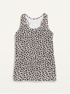 Fitted Racerback Tank Top for Girls