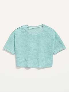 Breathe ON Cropped Tee for Girls