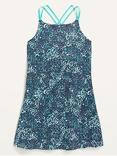 PowerSoft Strappy Dress for Girls