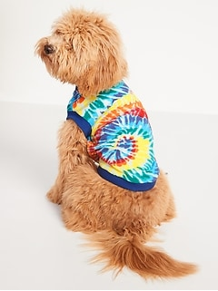 Printed Jersey T-Shirt for Dogs