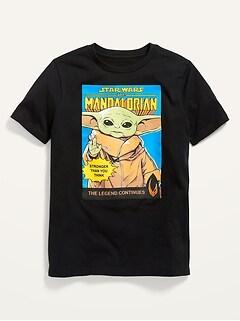 T-shirt unisexe à imprimé The Mandalorian de Star Wars™ pour Enfant