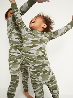 Matching Graphic Pajama Set for Toddler & Baby