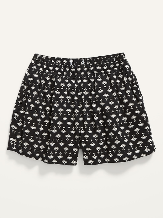 Printed Lightweight Shorts for Girls