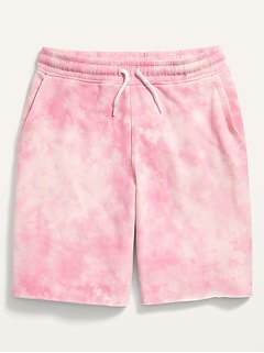 Gender-Neutral French Terry Cut-Off Shorts for Kids