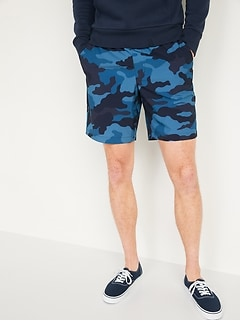 StretchTech Go-Dry Shade Jogger Shorts for Men -- 9-inch inseam
