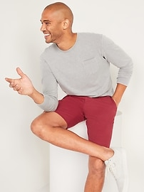Slim Ultimate Shorts for Men - 10 inch inseam