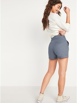 High-Waisted Everyday Shorts for Women -- 3.5-inch inseam
