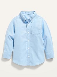 Oxford Long-Sleeve Shirt for Toddler Boys