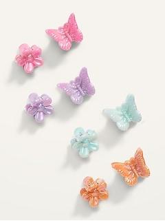 Novelty Barrette Hair Clips 8-Pack for Girls