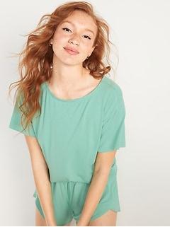 Loose Sunday Sleep Ultra-Soft Pajama Top for Women