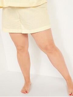 Camisole de nuit en tissage doux à manches flottantes, taille forte