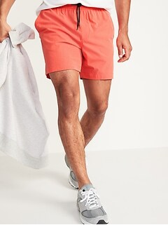Short d'entraînement techno extensible Go-Dry Shade pour homme, entrejambe de 18cm
