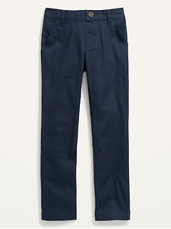 Uniform Skinny Pull-On Tech Pants for Girls
