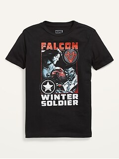 Marvel™ The Falcon and the Winter Soldier Gender-Neutral T-Shirt for Kids