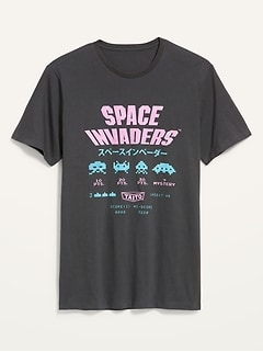 Space Invaders™ Gender-Neutral Graphic Tee for Adults