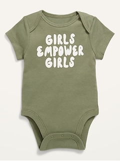 Short-Sleeve Graphic Bodysuit for Baby