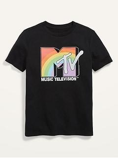 MTV™ Pride Logo Gender-Neutral Graphic T-Shirt for Kids