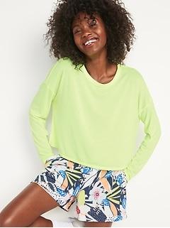 T-shirt All-Day UltraLite à manches longues pour Femme