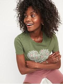 EveryWear Graphic Short-Sleeve T-Shirt for Women