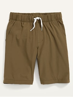 StretchTech Jogger Shorts for Boys
