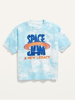 Space Jam A New Legacy™ Oversized Gender-Neutral Graphic T-Shirt For Kids
