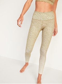 High-Waisted Elevate 7/8-Length Leggings for Women