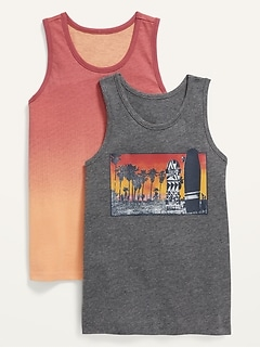 Tank Top 2-Pack for Boys