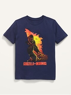 Godzilla Vs. Kong™ Gender-Neutral Graphic T-Shirt for Kids