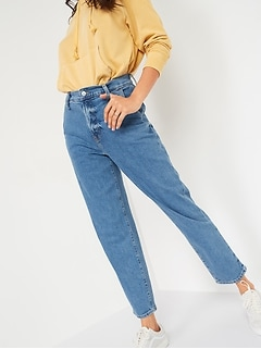 Extra High-Waisted Sky Hi Straight Jeans for Women