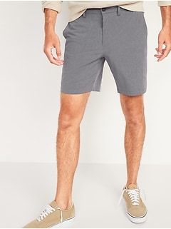 Slim Go-Dry Shade StretchTech Shorts for Men -- 8-inch inseam