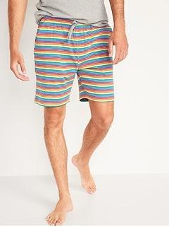 Short de pyjama pour homme en trico de jersey , entrejambe de 19cm