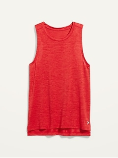 Go-Dry Cool Odor-Control Core Tank Top for Men