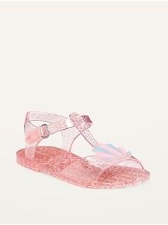 Sandales flexibles à bride en T pour Toute-petite fille
